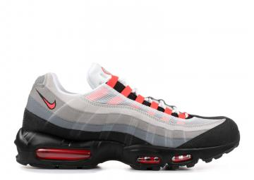 brand new c1ed3 59fe1 Air Max 95 Solar Red White Neutral Red Solar Grey 609048-106
