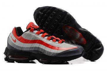 fafd740e7e871 Nike Air Max 95 Men Running Shoes Gray Orange Black 609048