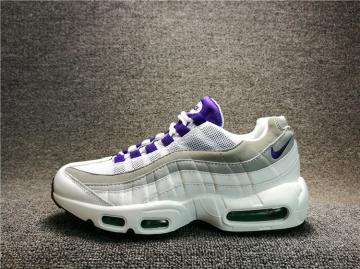 bf2158900851b Nike Air Max 95 OG Black Purple White Neon Grey 307960-101