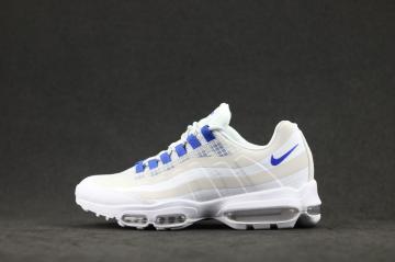 68bb1cab3d418 Nike Air Max 95 Ultra SE White Blue AO9566-100