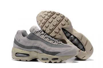 9fcf4f07b0 Nike Air Max 95 Wolf Grey Men Running Shoes Sneakers Trainers 749766-200