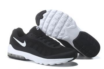 e16b331b65 Nike Air Max Invigor Print Men Training Running Shoes Black White 749680-414