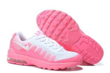 best sneakers 5f0ad 9e78e Nike Air Max Invigor Women Athletic Sneakers Running Shoes White Pink 749866