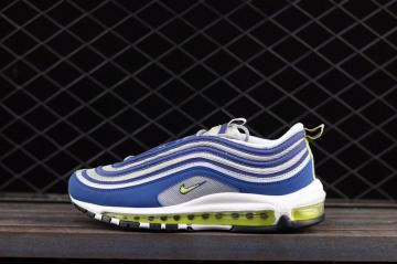Nike Air Max 97 OG Running Mens Shoes Blue Green 921826-401 e05e2d57e