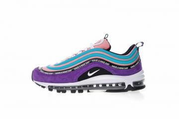 a49543561c Nike Air Max 97 Purple Navy Blue Have a Nike Day Sports Shoes BQ9130-400
