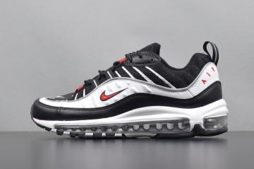 2c5a5a6871 Nike Air Max 98 OG Black White Red Shoes 640744-109