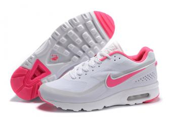 hot sales 11a14 c5f3e Nike Air Max BW Ultra Big Window GS Women Running Shoes Pure White Pink  819475-018