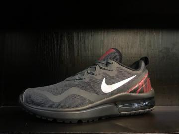 new concept 50624 857a6 Nike Air Max Fury Running Shoes Dark Grey Red White AA5739-005