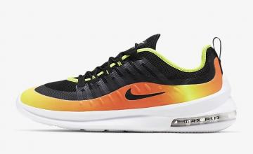 829c26be502cb Nike Air Max Axis Premium Black Volt Total Orange Black AA2148-006