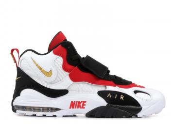 best website 6d99f 45004 Nike Air Max Speed Turf 49ers White Black Gym Red 525225-101