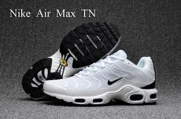 buy online abed6 81eed Nike Air Max Plus TN KPU white black Men Sneakers Running Shoes 604133-030