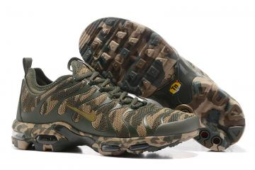 6db47fabdfbd Nike Air Max Plus TN Running Shoes Unisex XW Dark Green Brown 852630