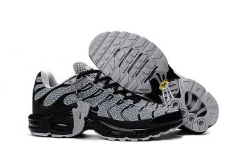 ad5871ef9 Nike Air Max Plus TXT TN KPU Black White Men Sneakers Running Trainers  Shoes 604133-105