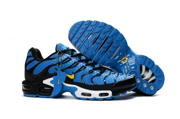 8517645ebd Nike Air Max Plus TXT TN KPU Navy Blue Black Men Sneakers Running Trainers Shoes  604133-103