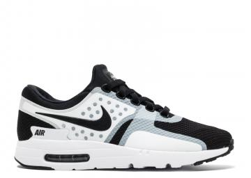 6b950cb187 Air Max Zero Essential White Black 876070-101