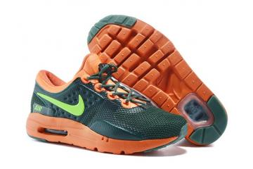 7790c1d58d Nike Air Max Zero 0 QS Black Orange Green Girls Boys Sneakers Shoes  789695-018