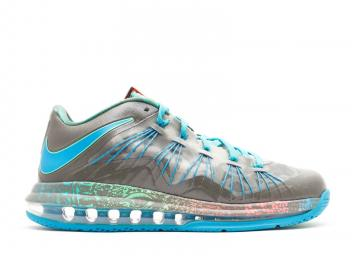74cb9c44ecb8 Air Max Lebron 10 Low Swamp Thing Psn Neo Tarp Green Turq 579765-301