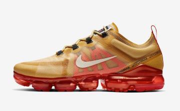 098d64d76924fa Nike Air VaporMax 2019 Club Gold Ember Glow AR6631-701
