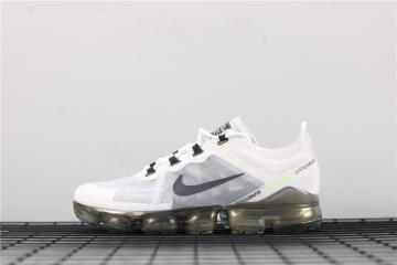 45cf91b73e Nike Air VaporMax 2019 White Dark Grey Platinum Tint Lime Blast AT6810-100