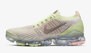 baf59ac0eb Nike Air VaporMax Flyknit 3 Barely Volt Pink Tint Metallic Silver Diffused  Taupe AJ6910-700