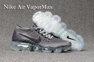 75c3c3a53b43 Nike Air VaporMax Men Women Running Shoes Sneakers Trainers Wolf Grey  849560-101
