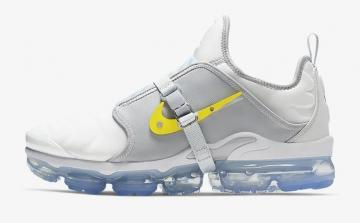f3151332a1 Nike Air VaporMax Plus On Air Lou Matheron Pure Platinum Wolf Grey Blue  Gaze Dynamic Yellow CI1506-001