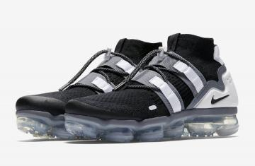 bef15d07a22 Nike Air VaporMax Utility Black Grey Black Black-Cool Grey-White-Pure  Platinum AH6834-003