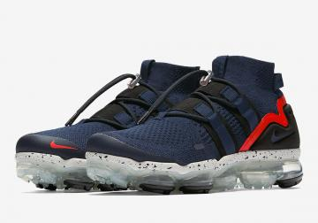 54dde68775c27 Nike Air VaporMax Utility College Navy College Navy Habanero Red AH6834-406