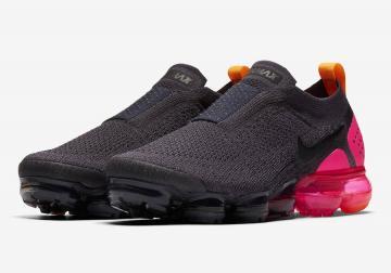 b8d3d22cee Nike WMNS Air VaporMax Moc 2 Pink Blast Gridiron Pink Blast-Black-Laser  Orange AJ6599-001