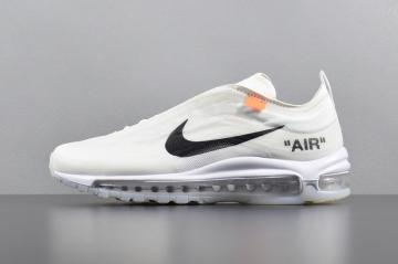 6580554804 Off White Nike Air Max 97 OG Running Shoes AJ4585-100
