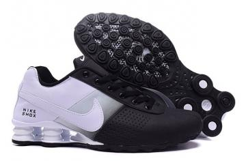 san francisco 6c248 2c078 Nike Shox Deliver Men Shoes Fade Black White Grey Casual Trainers Sneakers  317547