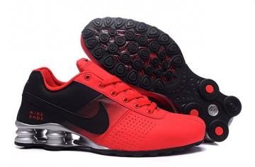 on sale d1dea 58b7d Nike Shox Deliver Men Shoes Fade Red Black Silver Casual Trainers Sneakers  317547