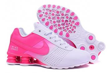best service 031f1 91dc1 Nike Shox Deliver Women Shoes Fade White Fushia Pink Casual Trainers  Sneakers 317547