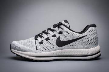 73b44dfe529b1 Nike Air Zoom Vomero 12 Black Grey Running Shoes Lace Up 863762-003