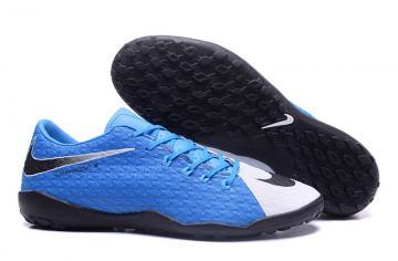 a7c143afe2e4 Nike Hypervenom Phelon III TF white blue football shoes