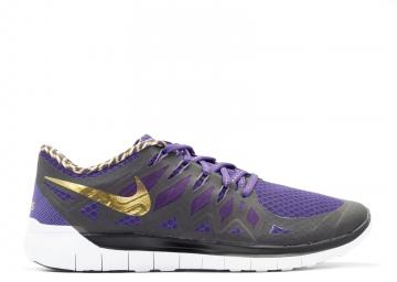 newest f8a54 6b217 Free 5.0 Db Doernbecher Purple Court Black Gold Metallic 725566-580