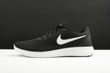 62742ac8cca8 Nike Free RN Running Shoes Black White 831508-001