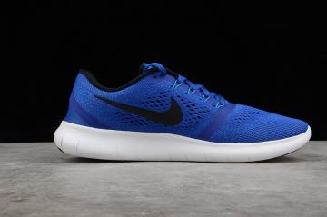 79038cfd3b09 Nike Free RN Running Shoes Blue White 831508-400