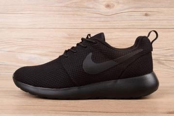 baa4c3f093e6 Nike Roshe Run New Collection Black 511881-096