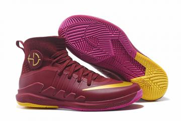 d0d221007c8b ... release date nike hyperdunk 2017 men basketball shoes wine red gold  2620f a5f2f