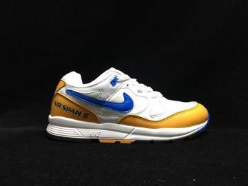 Nike Air Span II White Blue Yellow Running Shoes AH8047-103 66bd6fd9c