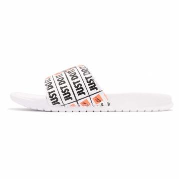 buy popular a5887 8793f Nike Benassi JDI Print White Black 631261-102