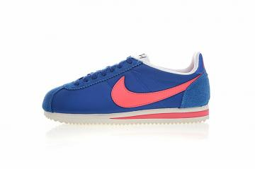 online store 539a5 b40f4 Nike Classic Cortez Nylon Blue Jay Pink White 749864-402