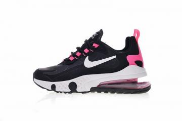 7b307a71fbd21 Nike React Air Max Black Pink Athletic Sneakers Shoes AQ9087-017