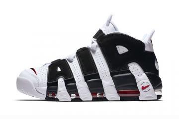 Nike Air More Uptempo Pippen black white panda Men Women Shoes 414962-105 321b4c4f7