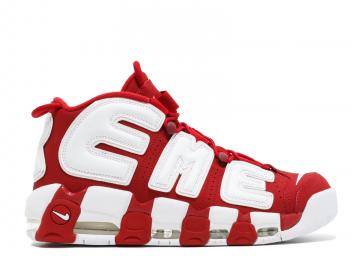 29eaa8fc0 Air More Uptempo Supreme White Varsity Red 902290-600