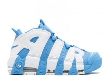 Nike Air More Uptempo Basketball Unisex Shoes Sky Blue White 921948-401 3d549bf12