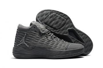 f6d9fef7c562 NIKE JORDAN MELO M13 XIII gray men basketball shoes 902443-002