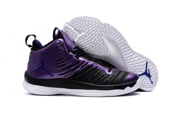 1f5927858c1 Nike Jordan Super Fly 5 Purple Black White Men Shoes 850700