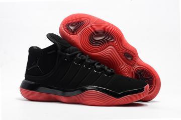 half off b7187 f80c8 Nike Jordan Superfly 2017 Men Basketball Shoes Black Red 921203-024